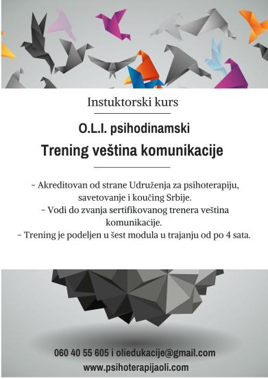 O.L.I. psihodinamski trening